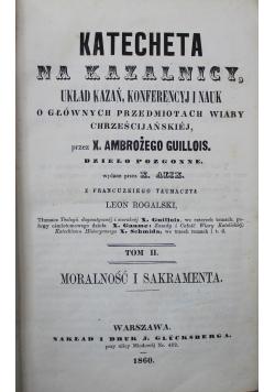 Katecheta na kazalnicy Tom II 1860 r.