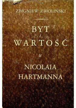 Byt i wartość u Nicolaia Hartmanna