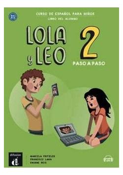 Lola y Leo 2 paso a paso podręcznik ucznia