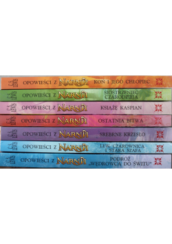 Opowieści z Narnii 7 tomów