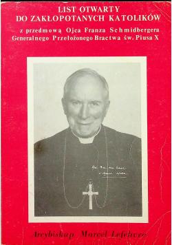 Listy otwarty do zakłopotanych katolików