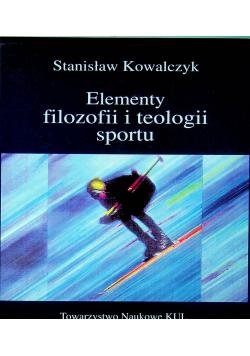 Elementy filozofii i teologii sportu