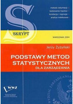 Podstawy metod statystycznych dla zarządzania