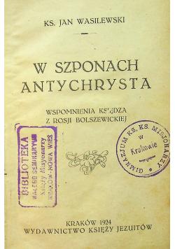 W szponach Antychrysta 1924 r.