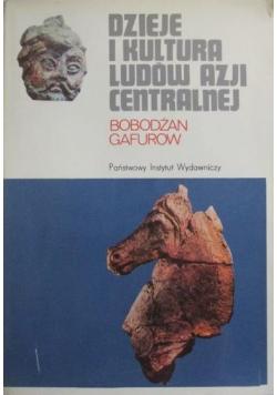 Dzieje i kultura ludow Azji Centralnej