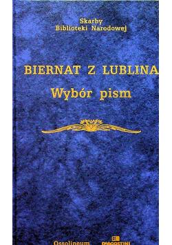 Biernat z Lublina Wybór pism