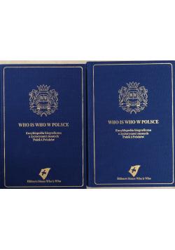 Who is Who w Polsce Encyklopedia biograficzna 2 tomy