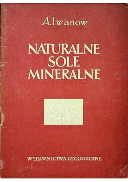 Naturalne sole mineralne