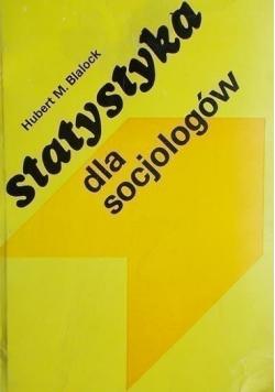 Statystyka dla socjologów