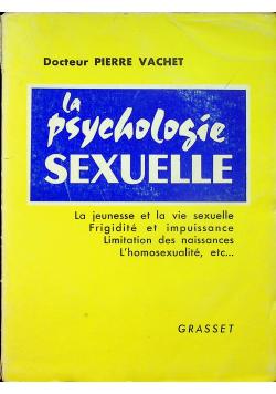 La psychologie sexuelle