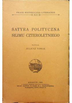 Satyra polityczna sejmu czteroletniego 1933r