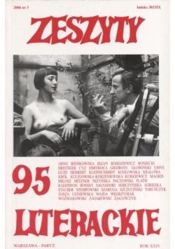 Zeszyty literackie 95 3/2006
