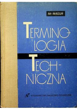 Terminologia techniczna