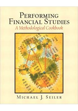 Performing financial studies A methodological cookbook