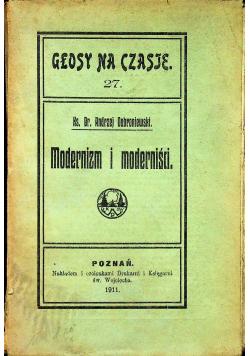 Modernizm i moderniści 1911 r