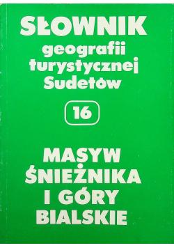 Słownik geografii turystycznej Sudetów 16 masyw śnieznika