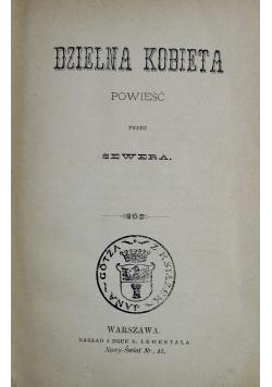 Dzielna kobieta 1891 r