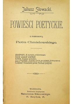 Powieści poetyckie 1897r