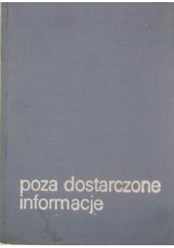 Poza dostarczone informacje
