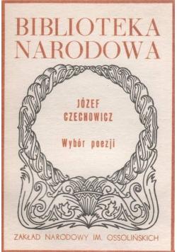 Czechowicz Wybór poezji
