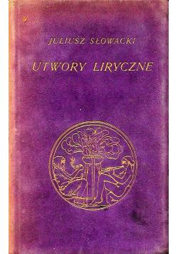Utwory liryczne 1910 r.
