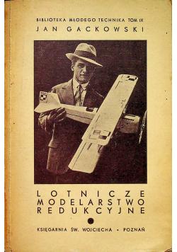 Lotnicze modelarstwo redukcyjne 1938 r.