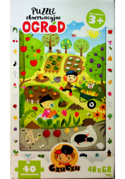 Puzzle obserwacyjne Ogród
