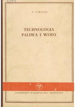 Podstawy technologii paliw i wody