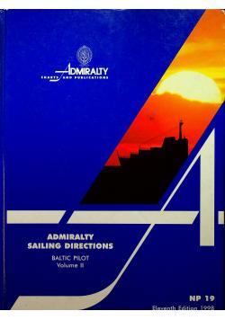 Admiralty sailing directions Baltic pilot II