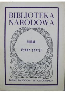 Pindar Wybór poezji