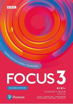 Podręcznik Focus 3 Students Book B1  B1+