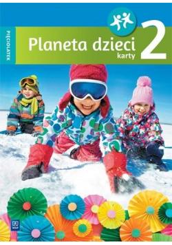 Planeta dzieci. Pięciolatek. Karty pracy cz.2 WSiP