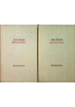 Rousseau Wyznania 2 tomy