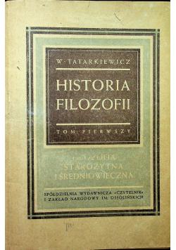 Historia filozofii tom I 1946 r