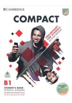 Compact Preliminary for Schools B1 Student's Pack