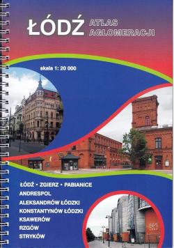 Łódź atlas aglomeracji 1:20 000