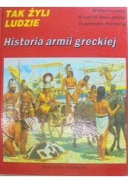 Tak żyli ludzie Historia armii greckiej