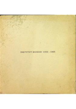 Instytut morski 1950  1965