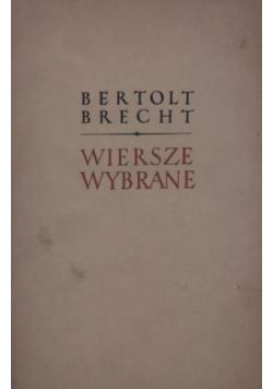 Bertolt Brecht Wiersze wybrane