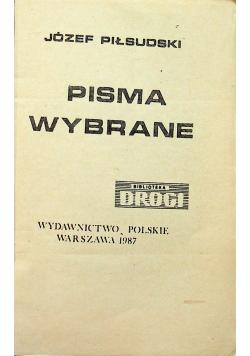Piłsudski Pisma wybrane