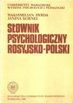 Słownik psychologiczny rosyjsko polski