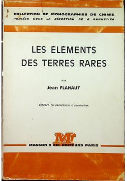 Les Elements des Terres Rares