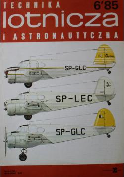 Technika lotnicza i astronomiczna Nr 6