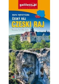 Mapa turystyczna - Czeski raj 1:50 000