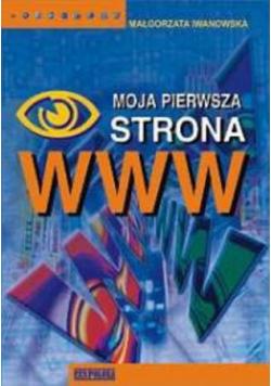Moja pierwsza strona WWW