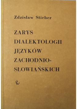 Zarys dialektologii języków zachodnio słowiańskich
