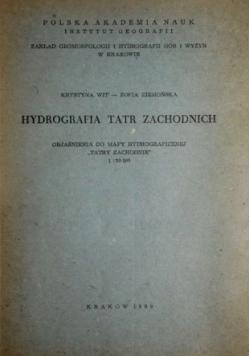 Hydrografia Tatr zachodnich