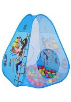 Namiot z piłeczkami niebieski