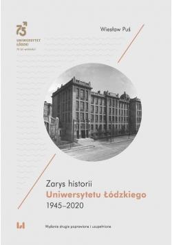 Zarys historii Uniwersytetu Łódzkiego 1945-2020