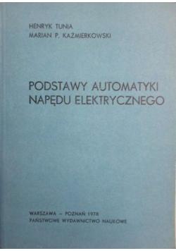 Podstawy automatyki napędu elektrycznego